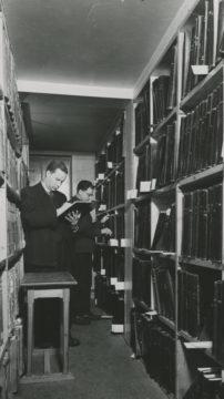 Kansallisarkistoa kutsuttiin vuonna 1946 Valtionarkistoksi.