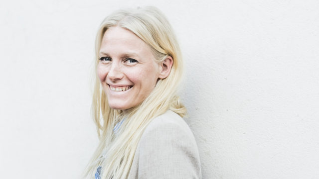 Näytelijä Laura Birn 22.9.2016