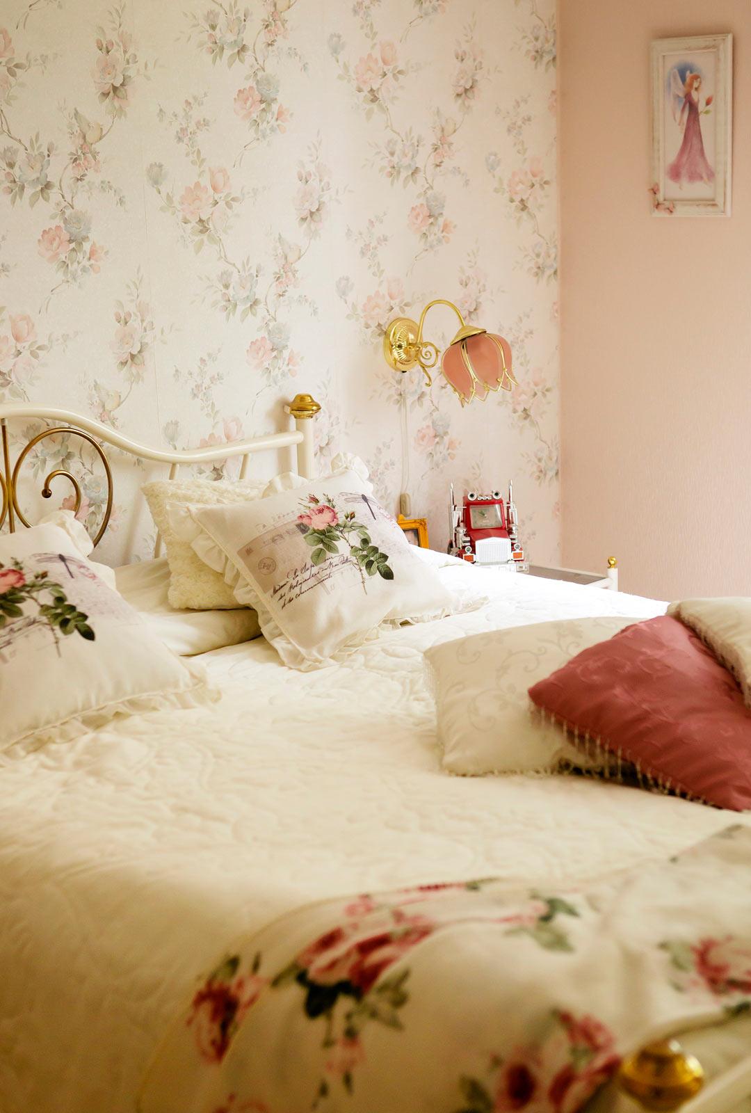 Marjut nauttii, kun kotona on siistiä ja kaunista.