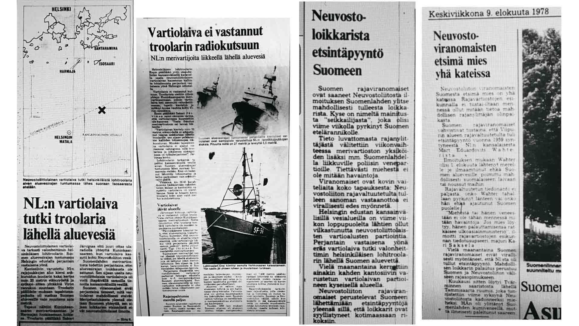 Helsingin Sanomat kirjoitti epäillystä loikkauksesta jo ennen kuin Neuvostoliitto teki tapauksesta virallisen ilmoituksen.