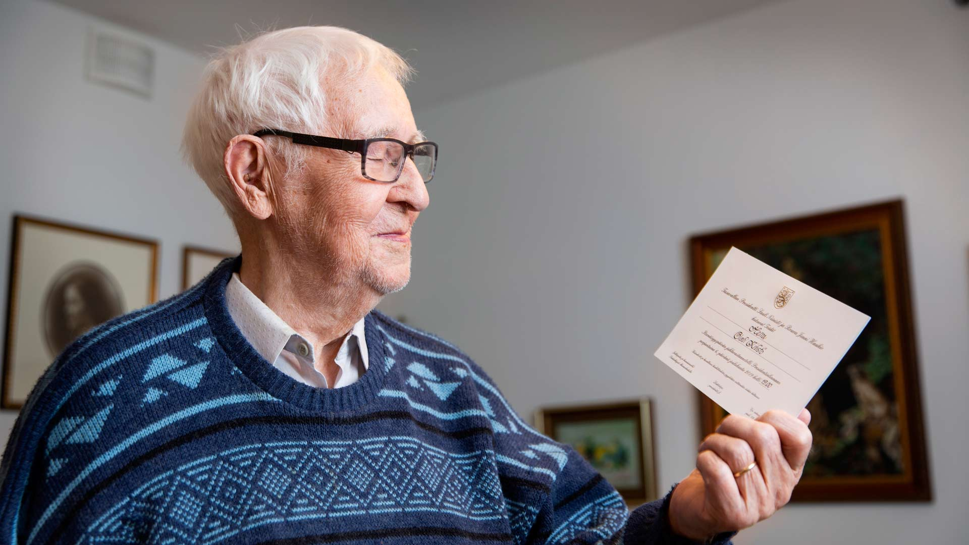 Olavi oli mukana jatkosodassa ja Lapin sodassa. Sodan jälkeen hän työskenteli muun muassa konemestarina.