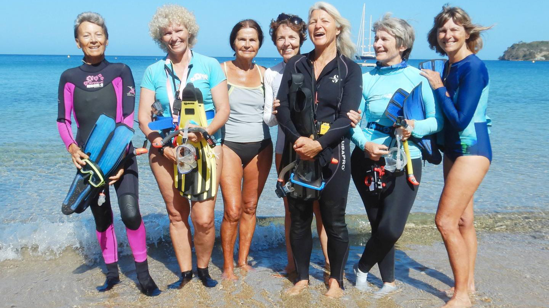Snorklaavia mummoja ovat Geneviève Briançon, Aline Guémas, Monique Zannier, Monique Mazière, Sylvie Hébert, Cathy Le Bouteiller ja Marilyn Sarocchi.