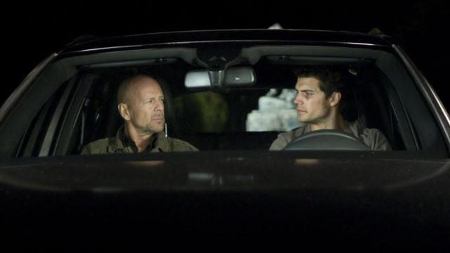 Bruce Willis ja Henry Cavill näyttelevät elokuvassaThe Cold Light of Day.