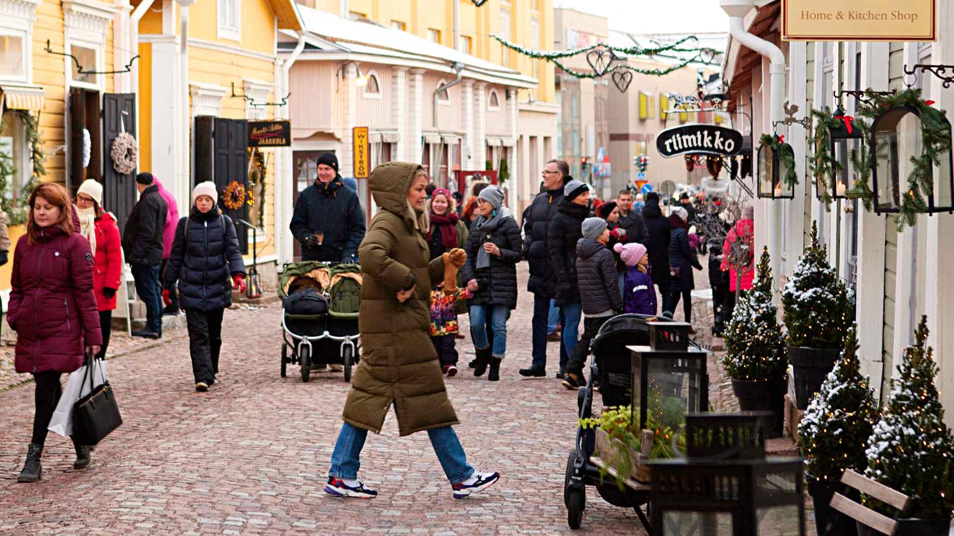 Vanhan Porvoon Joulumarkkinat 2021