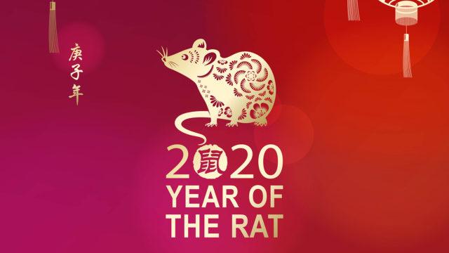 Kiinalainen uusivuosi 2020 on rotan vuosi