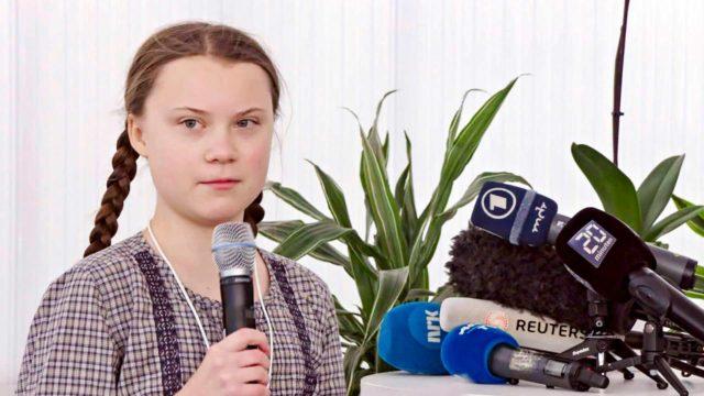 Ruotsalaisaktivisti Greta Thunberg.