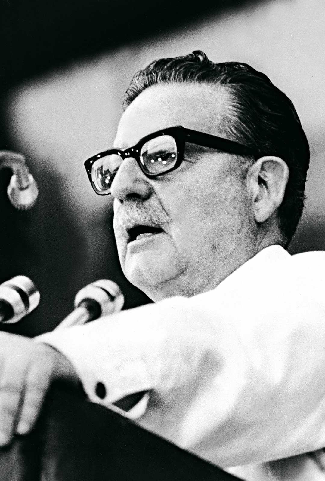 Työväen presidentti Salvador Allende pyrki tasaamaan luokkaeroja.