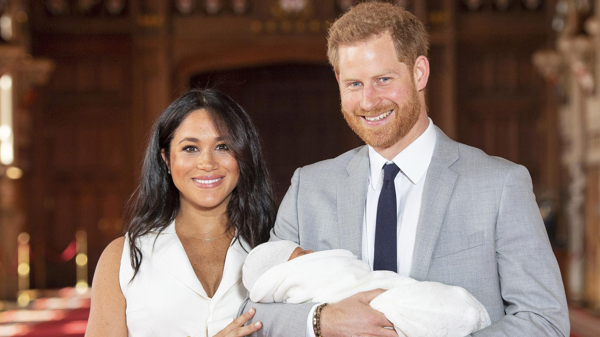 Jatkossa Sussexin herttuapari aikoo asua myös Pohjois-Amerikassa. LEHTIKUVA