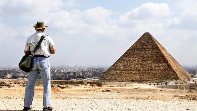 Gizan pyramidi on yksi ihmiskunnan suurimmista saavutuksista.