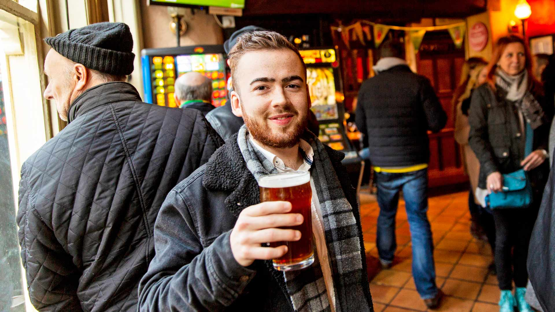 Woodforde's Breweryn Jack Sherry kertoo, että nimi The Perfect Finnish syntyi yhdessä seuran kanssa.
