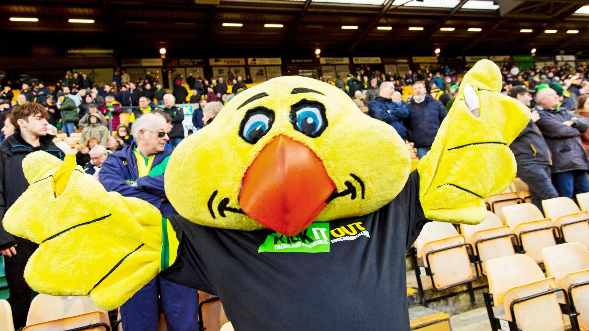 Norwich Cityn fanit kutsuvat joukkuetta kanarialinnuiksi. Lempinimi syntyi jo sata vuotta sitten.