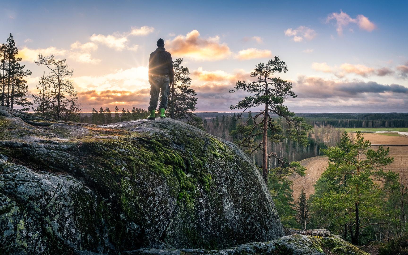 Luonto on meitä lähellä - Jere Malinen muistuttaa.