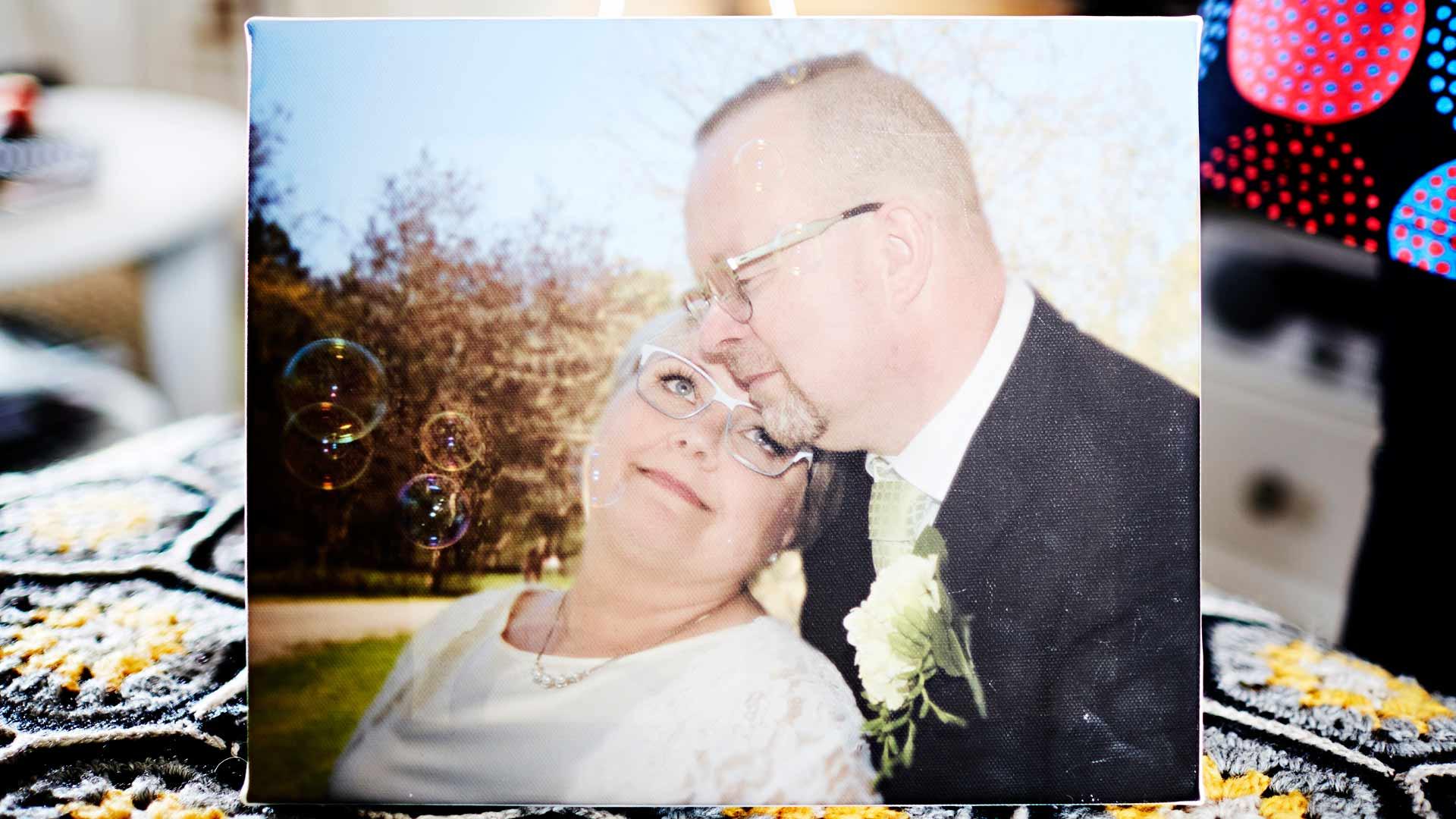 Mirjan rakas puoliso Pekka.