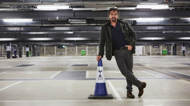 Richard Hammond on tuttu Top Gear -sarjasta.