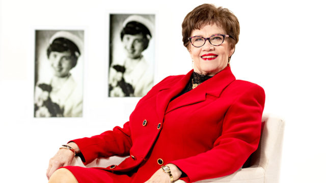 Sirkka-Liisa Anttila valittiin eduskuntaan ensi kerran vuonna 1983.