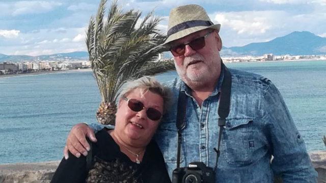 Karavaanari Jari ja vaimo Vuokko juhlistavat 30-vuotista taivalta karavanaareina.