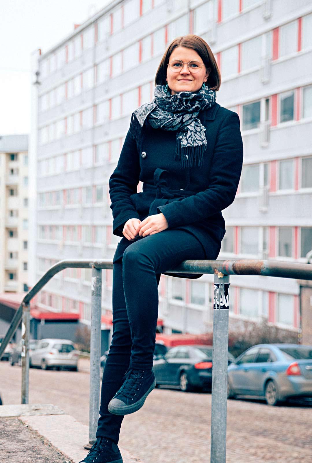 Anni Heinälä tahtoo omalla panoksellaan muuttaa Suomea ja samalla koko maailmaa edes pieniltä osin paremmaksi.