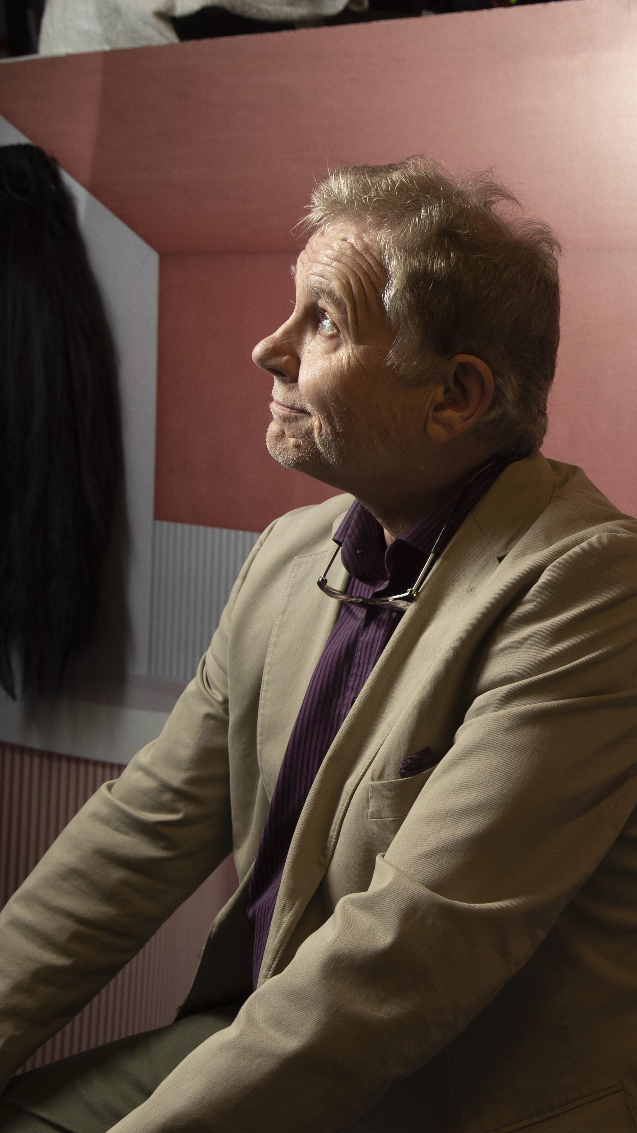 Jarmo Heikkinen haaveili jo lapsena radio- ja televisiourasta.
