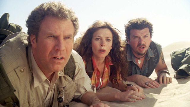 Land of the Lost perustuu 1970-luvun lasten tv-sarjaan.