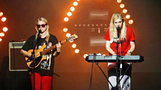 Kaisa ja Anna Karjalainen.