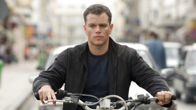 Matt DamonJason Bourne -trilogian kolmannessa osassa.