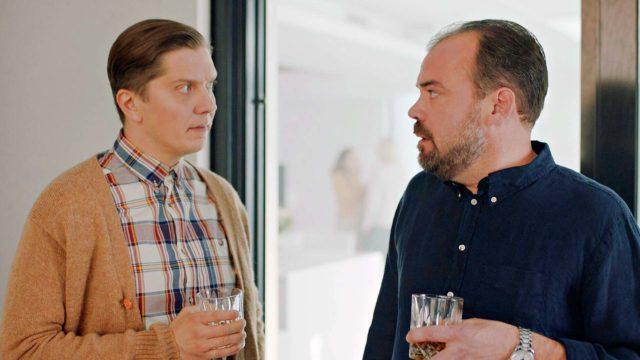 Pääroolissa jatkaa Eero Ritala (vas) ja Markus Aaltona debytoi Max Forsman.