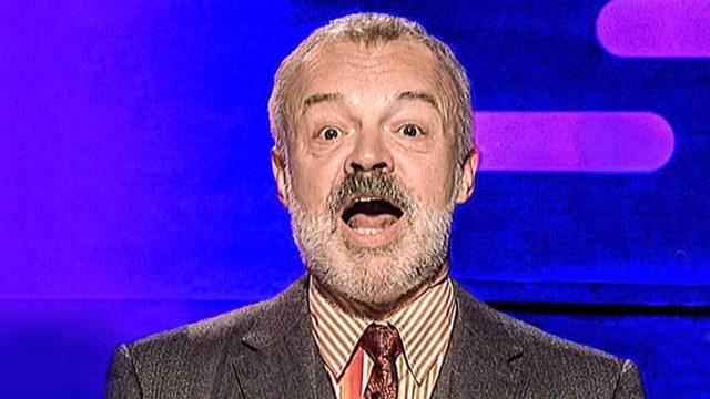 Koomikko, näyttelijä ja juontaja Graham Norton.