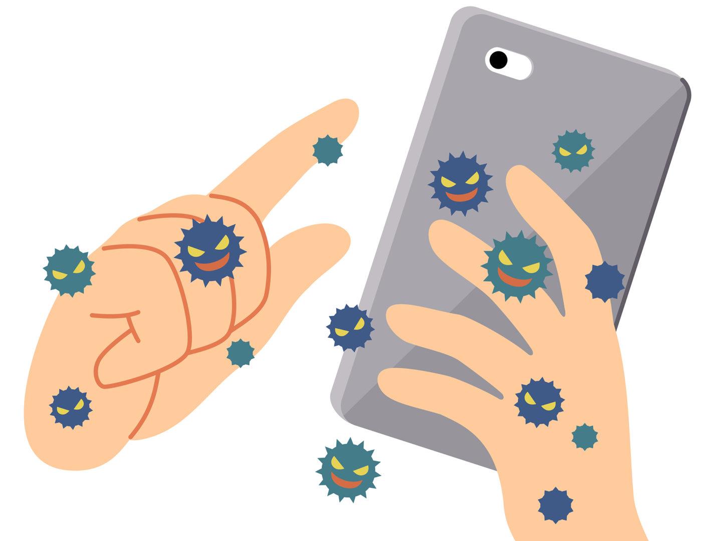 Puhelimen voi puhdistaa myös mikrokuituliinalla, jota kannattaa käyttää mukana.