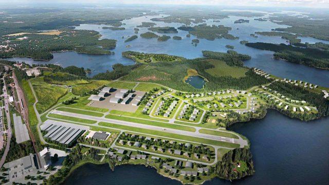 Mänttä-Vilppulan omistaman Sassin pienlentokentän alueelle pitäisi nousta iso ilmailu- ja yrityspuisto.