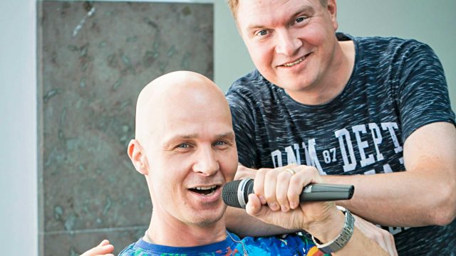 Tuki muusikoille tarpeen. Marko Maunuksela ja Jukka Hallikainen