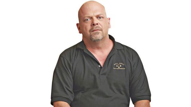 Rick Harrison pyörittää panttilainaamoa realityohjelmassa Panttilainaamo.