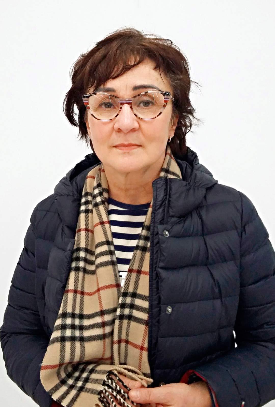 Sisko Eskelinen ennen muuttujapäivää.