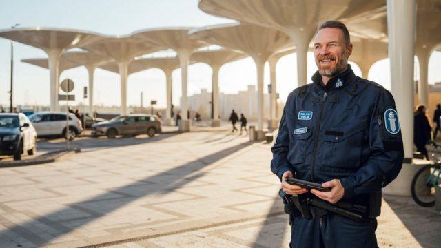 Janne Korhonen tapaa mieluiten ihmiset kasvokkain, mutta pitää tärkeänä, että poliisiin saa yhteyden myös virtuaalisesti.