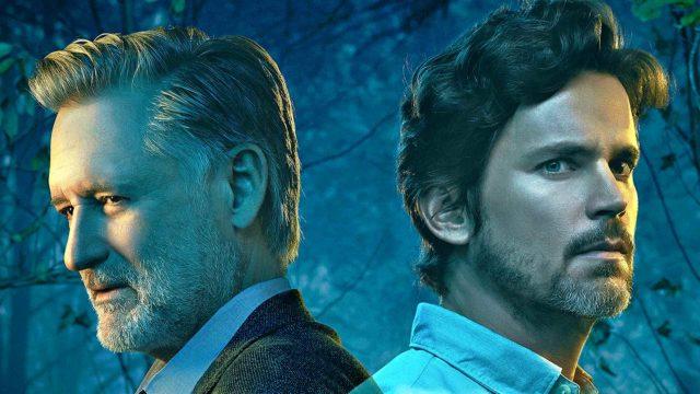 Rikosetsivä Harry Ambrose (Bill Pullman, vas.) ja Jamie Burns (Matt Bomer) sarjassa Syntinen.