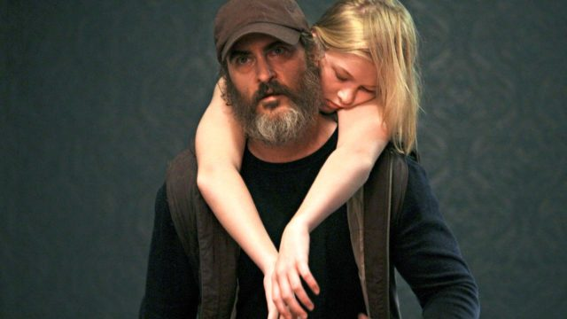 Joaquin Phoenix elokuvassa You Were Never Really Here.