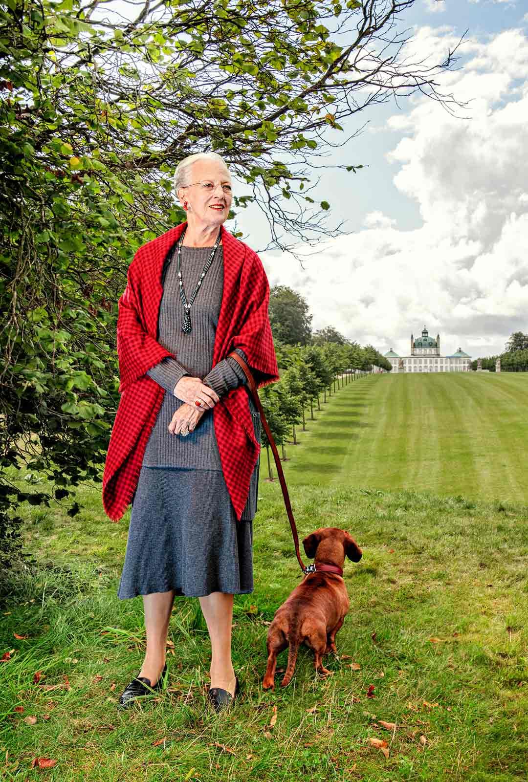 Tanskan kuningatar Margareeta vietti pääsiäistä yksin.
