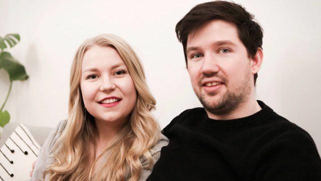 Walesilainen Joe rakastui suomalaiseen Katriin.