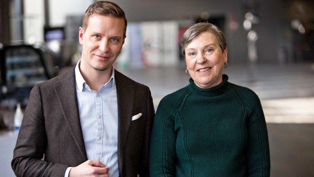 Kirjailija Joonas Konstig kertoi toimittaja Marja-Terttu Yli-Sirniölle, kuinka löysi aiheen uuteen romaaniinsa.