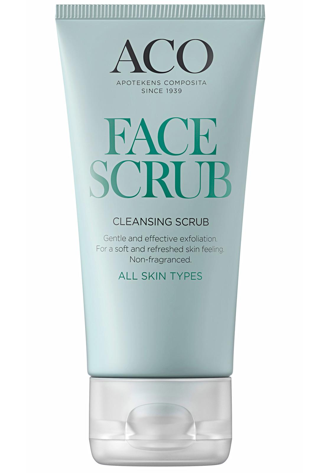 Aco Face Cleansing Scrub With Bambu 9,10 €/50 ml.