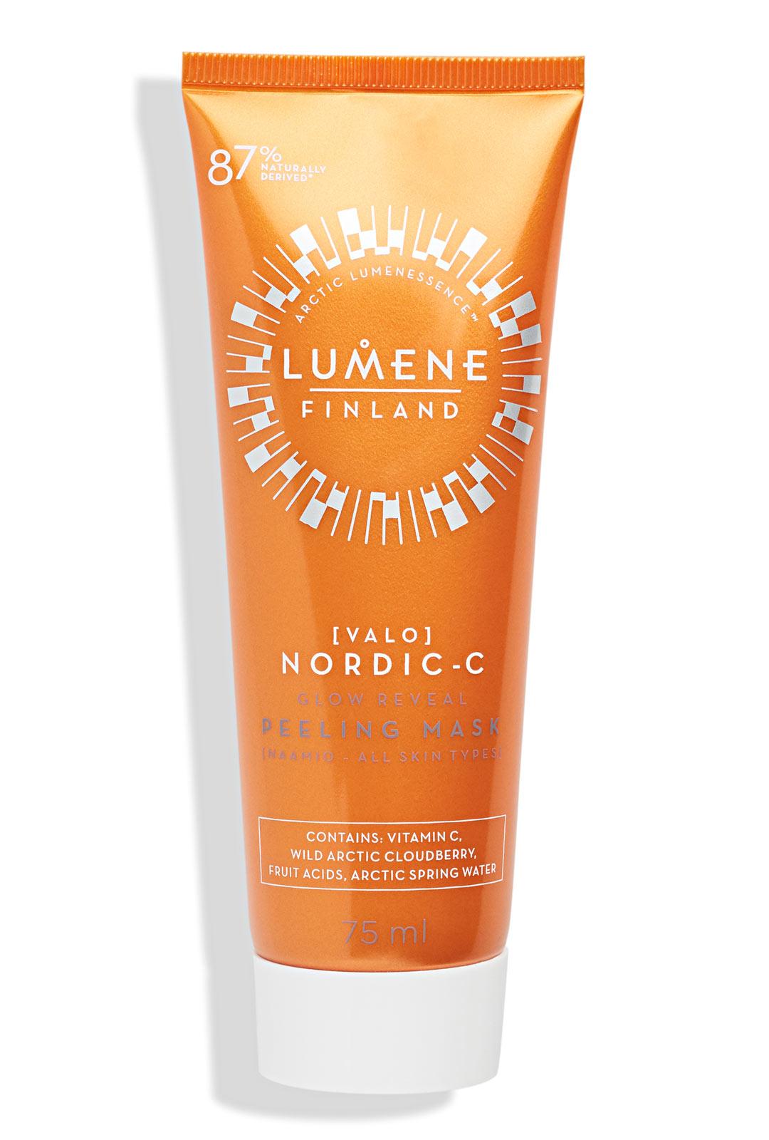 Lumene Valo Nordic-C Glow Reveal Peeling Mask, 14,90 €/75 ml.