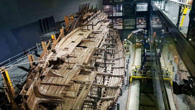 Mary Rose -laivan hylky osoittautui arkeologiseksi aarteeksi.