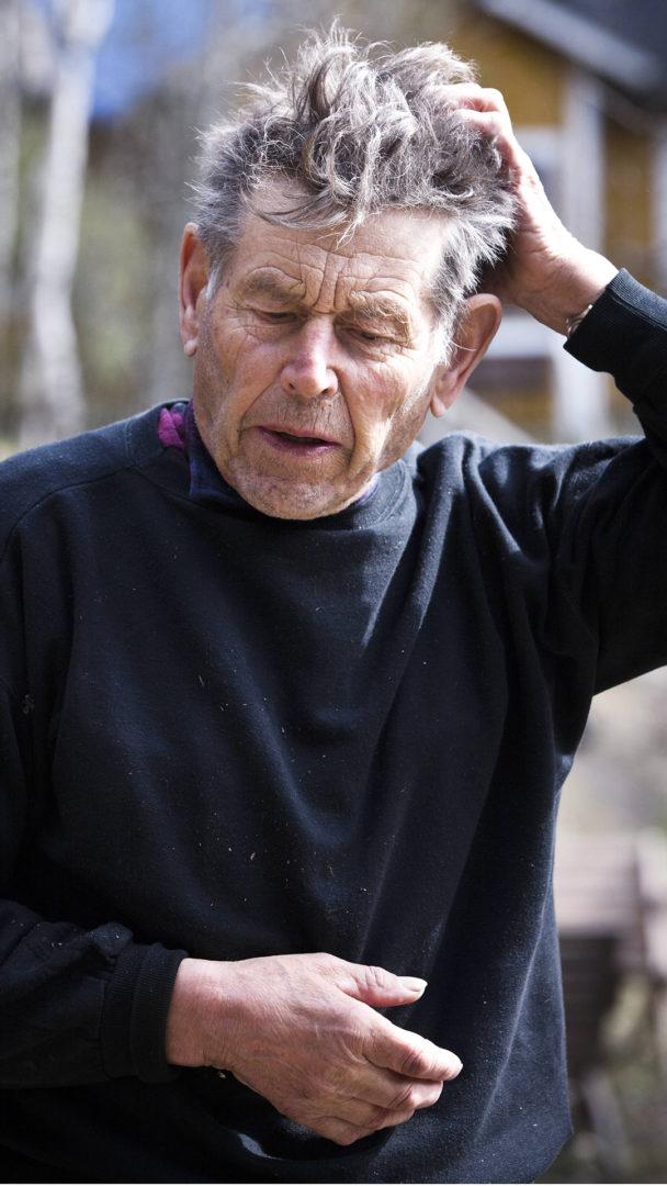 Kalastaja Pentti Linkola toukokuussa 2012.
