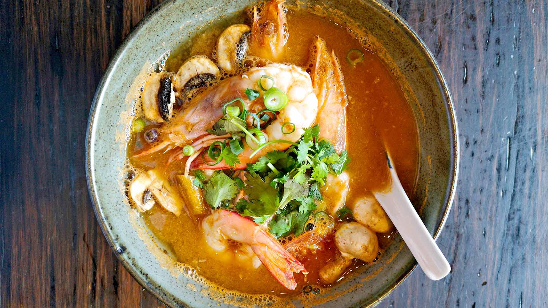 Chat Thai -ravintolan herkku.
