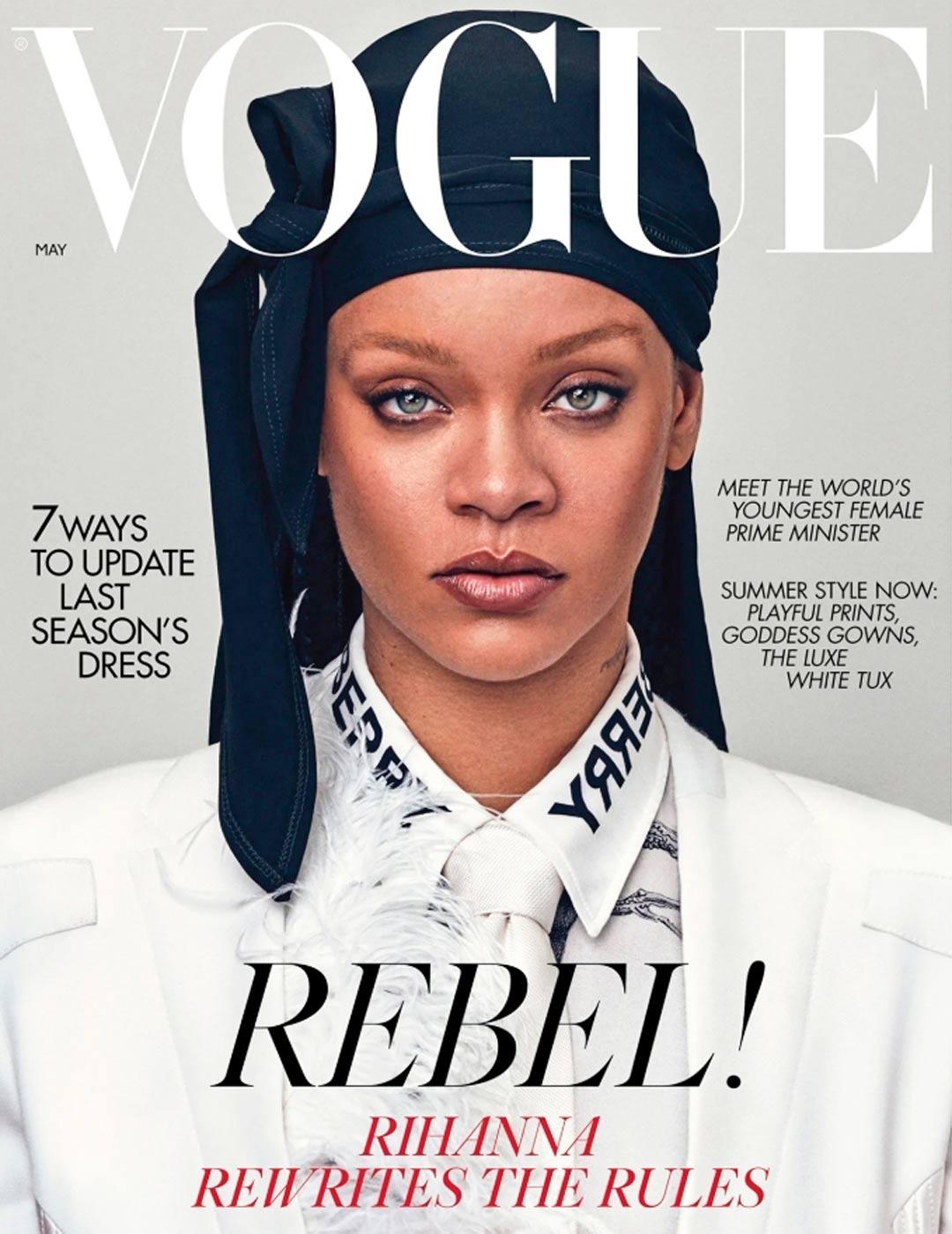 Voguen kansi, Rihanna ja Sanna Marin