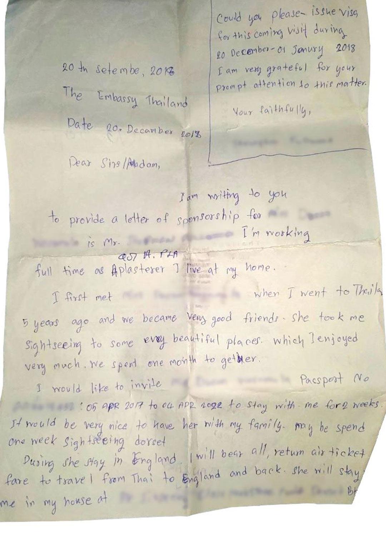 Tämä kirje paljasti Paulin vaimon vuosia jatkuneen kaksoiselämän.