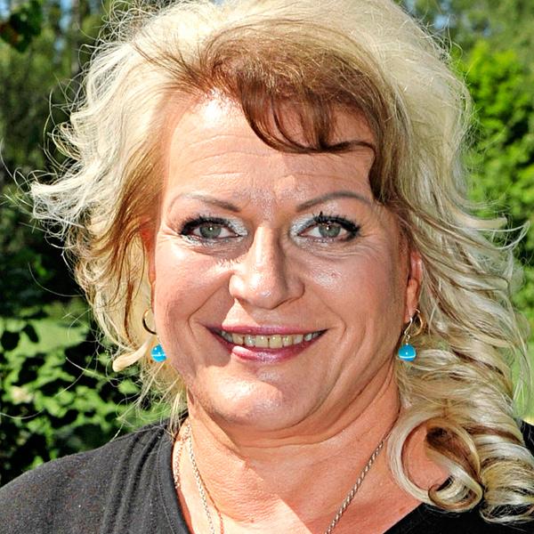 Arja Sipola, tangokuningatar vuodelta 1987.