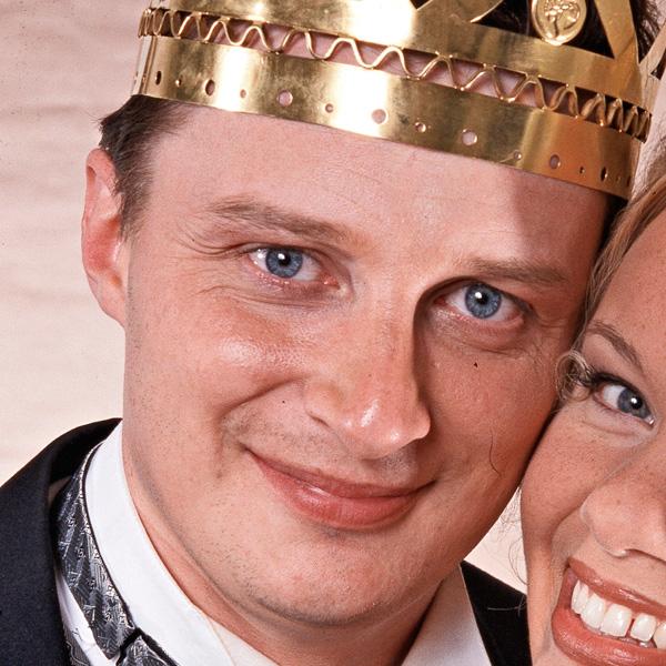 Erkki Räsänen, tangokuningas vuodelta 2001.