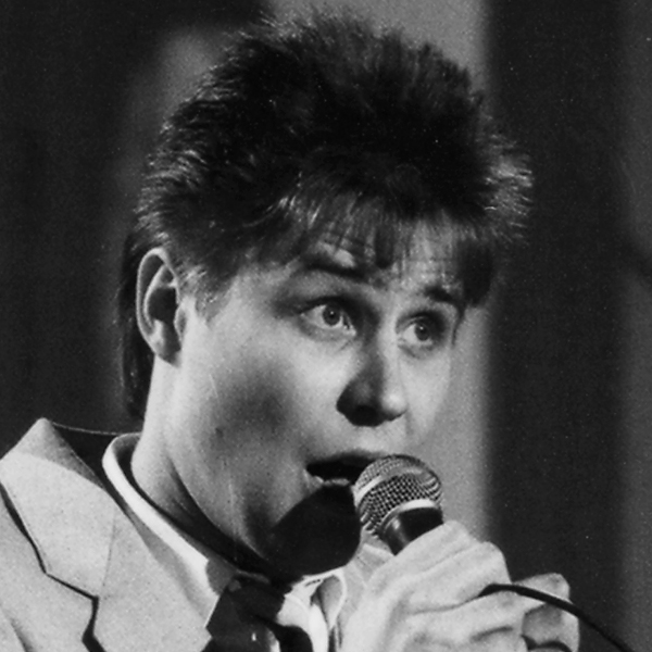 Harri Lahti, tangokuningas vuodelta 1987.