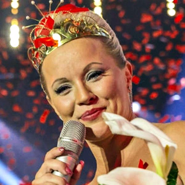 Heidi Pakarinen, tangokuningatar vuodelta 2013.