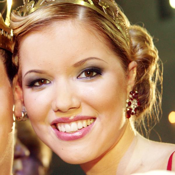Jenna Bågeberg, tangokuningatar vuodelta 2007.